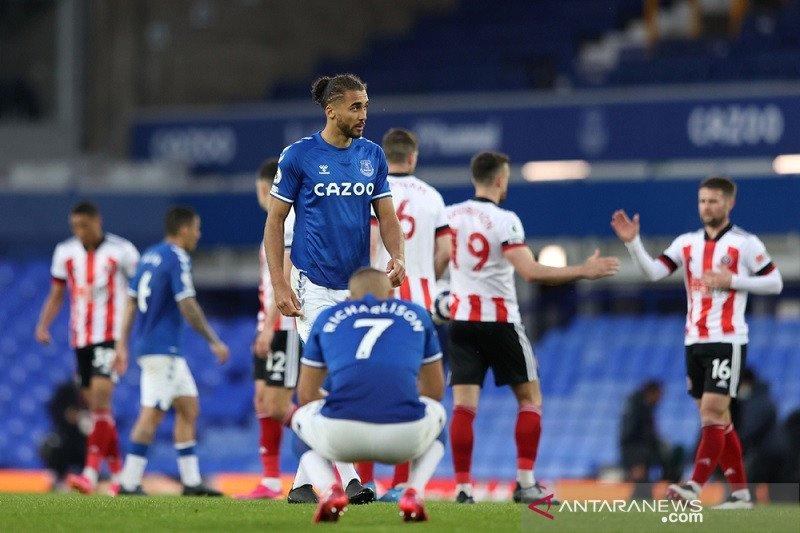 Mimpi Everton berlaga di kompetisi Eropa meredup