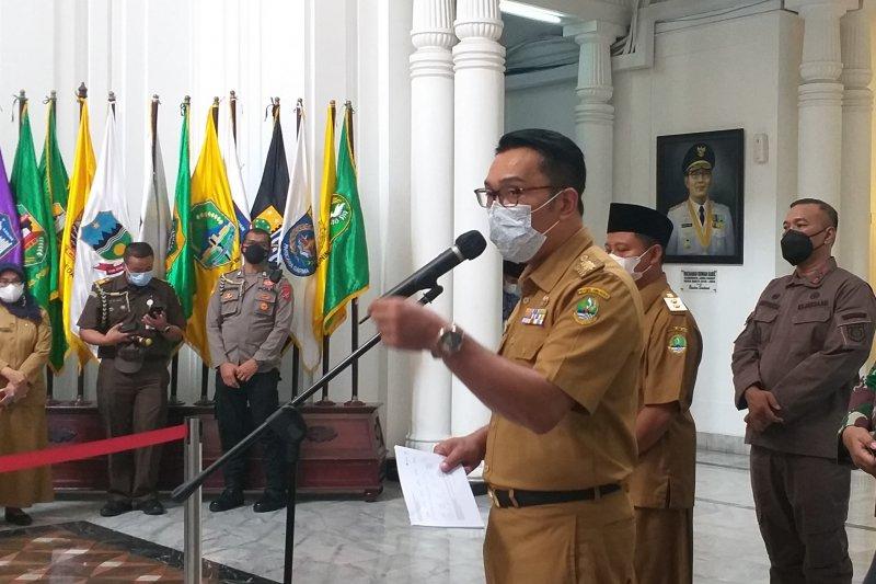 Ridwan Kamil: Tak ada daerah berstatus zona merah di Jawa Barat