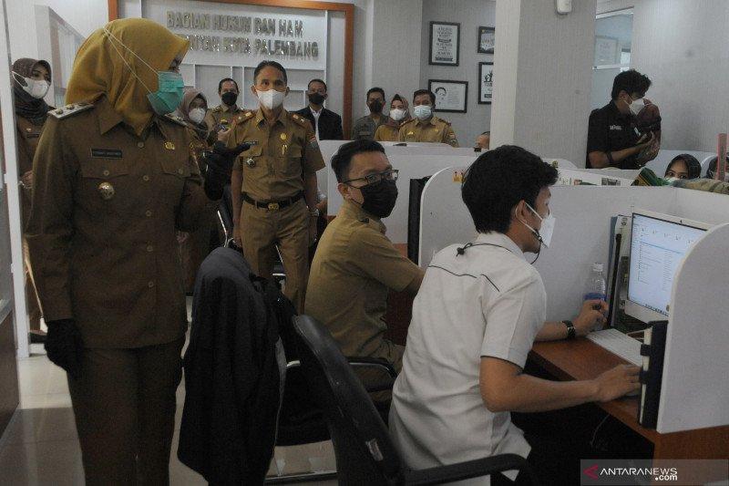 Wakil Wali Kota-Sekda Palembang dapati pegawai bolos kerja usai Idul Fitri