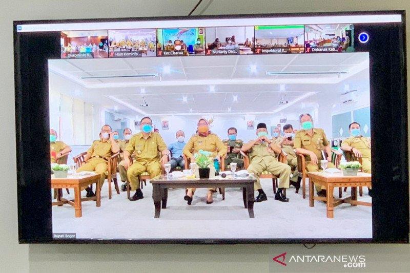 Bupati Ade Yasin gelar Halal Bi-Halal virtual bersama ASN Bogor