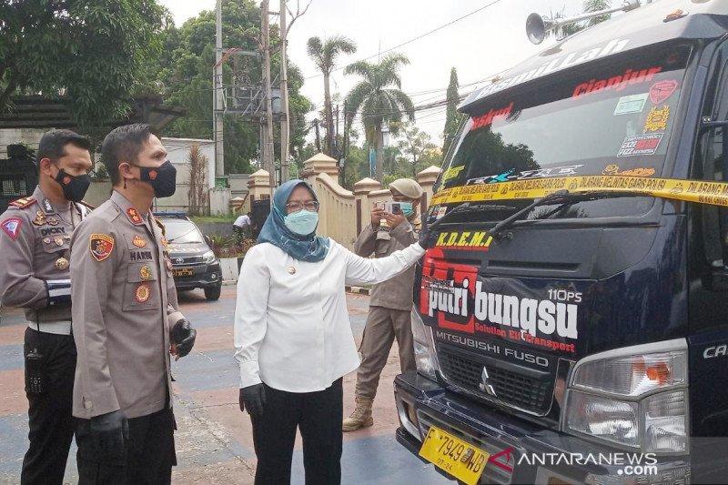 Satgas Bogor putar balik 20.112 kendaraan selama 6-16 Mei