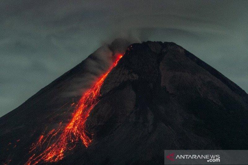Gunung Merapi luncurkan 49 kali guguran lava selama sepekan
