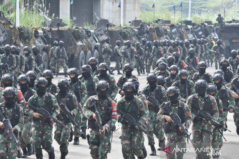992 prajurit Kodam Jaya di Meikarta Cikarang lakukan 'pertempuran kota'