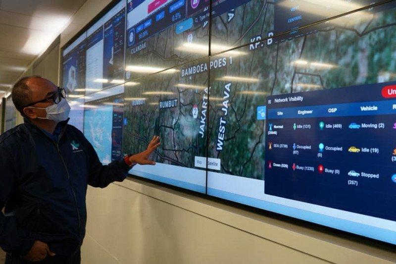 Trafik data XL Axiata naik 35 persen saat Lebaran 2021
