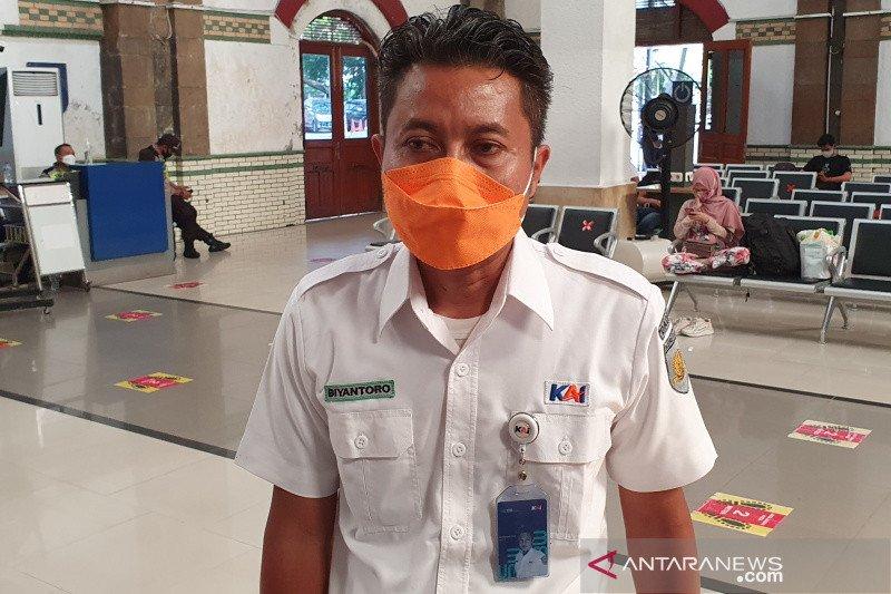 KAI Daop 4 Semarang sebut pelayanan masa peniadaan mudik berjalan lancar