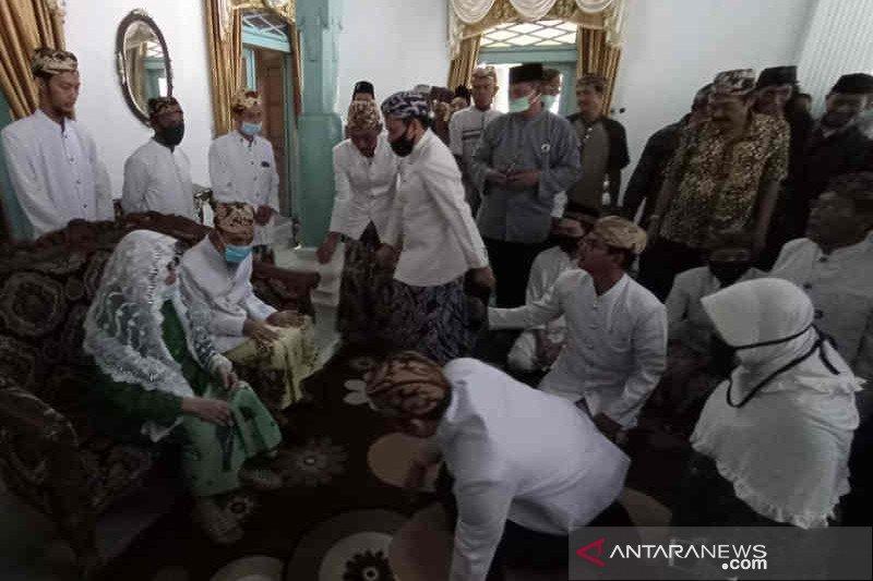 Keraton Kanoman Cirebon gelar tradisi halal bihalal secara terbatas