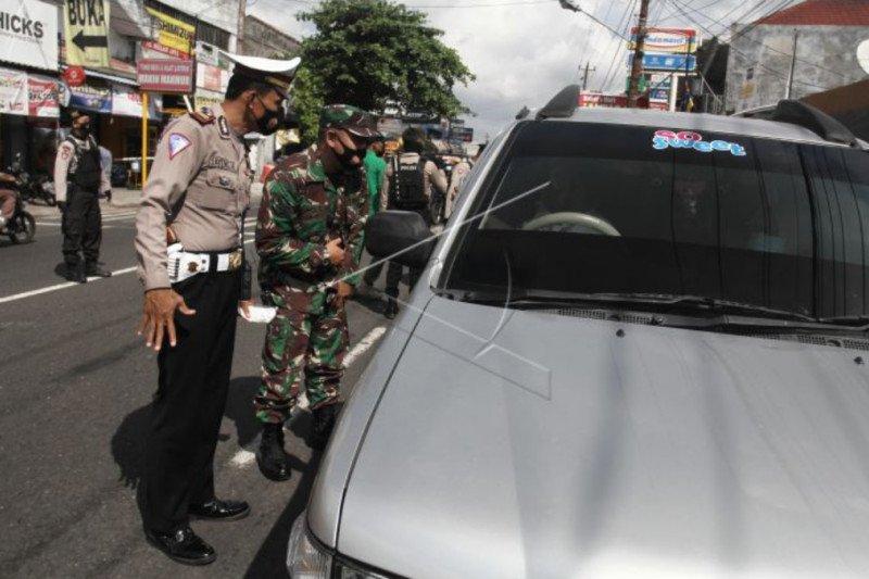 Polda DIY memutar balik ribuan kendaraan selama Operasi Ketupat Progo