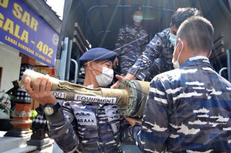 Operasi salvage KRI Nanggala 402