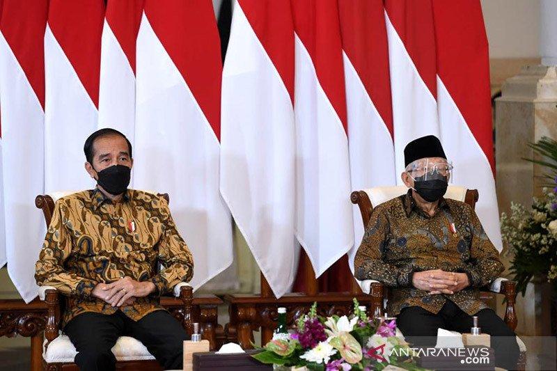 Puspoll: Tingkat kepuasan kinerja Jokowi-Ma'ruf Amin baik