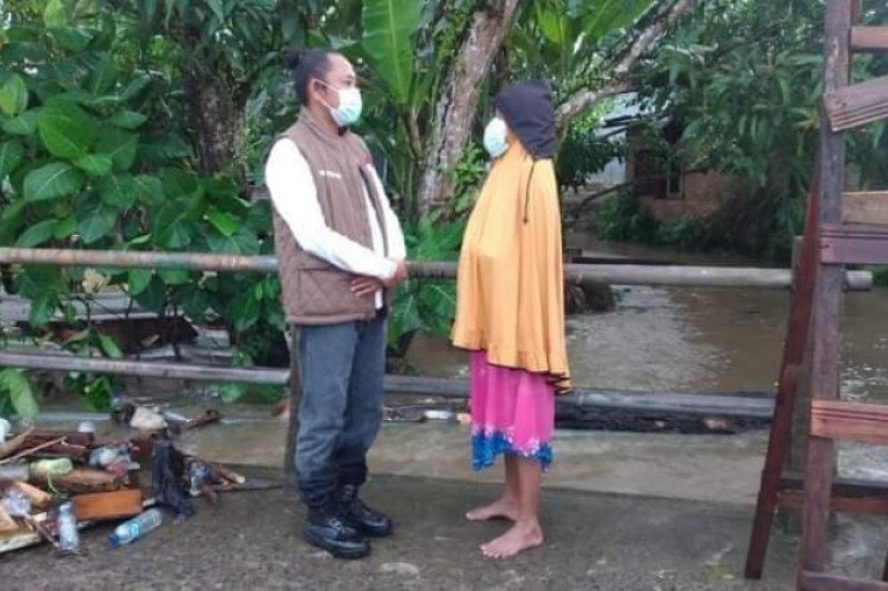 Banjir hantui warga Mamuju Sulawesi Barat