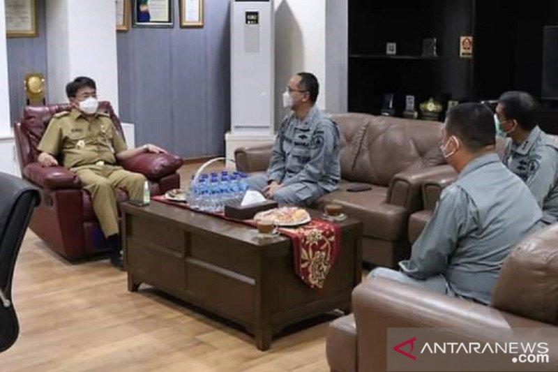 Wali Kota Manado terima kunjungan Kepala Bakamla Sulut