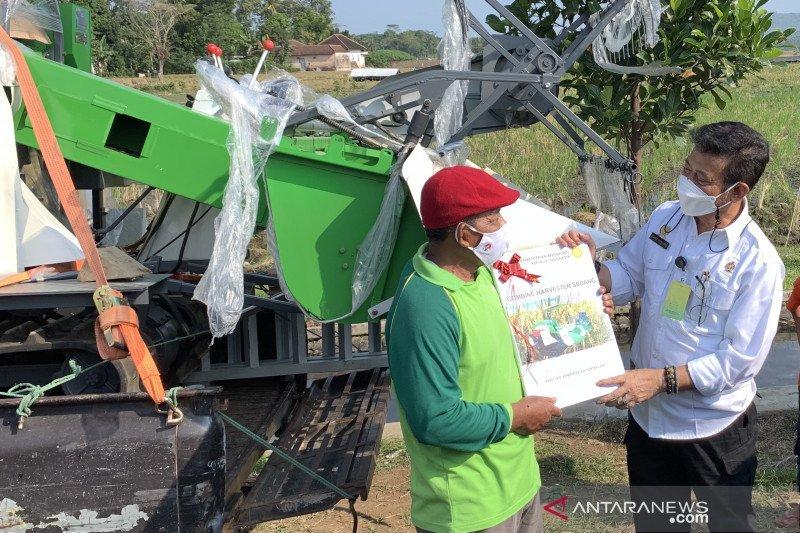 Mentan mendorong Kabupaten Malang jadi percontohan pertanian di Indonesia