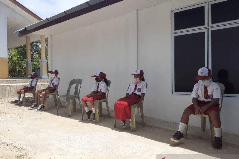 Tahun ajaran baru di Batam tetap sekolah daring