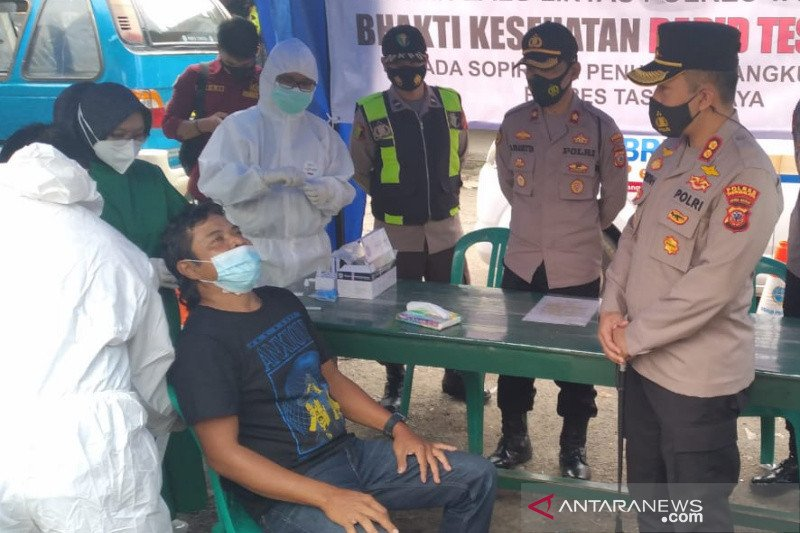 Dua warga Tasikmalaya terdeteksi positif COVID-19 di Terminal Singaparna