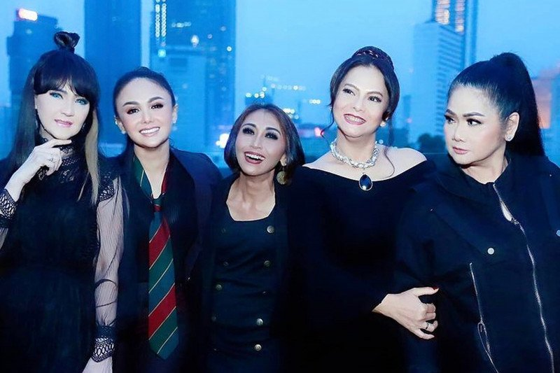 Konser All Star Legends di Pelataran Indonesia