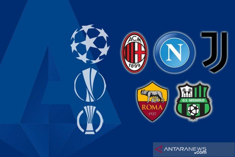Perebutan tiket Eropa Liga Italia pada laga pamungkas