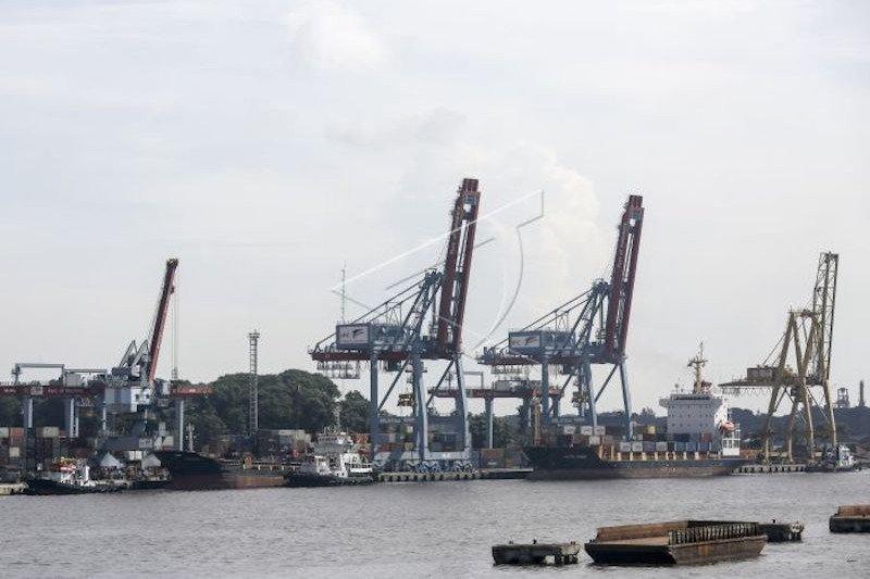 Ekspor Sumsel gunakan pelabuhan daerah lain terus meningkat