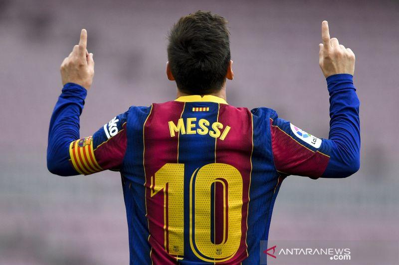 Juarai Copa del Rey, Lionel Messi incar lebih banyak gelar