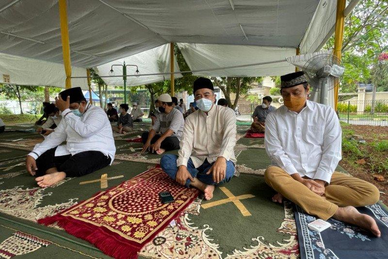 Shalat Jumat di Tenda Masjid At Tabayyun, Dwiki Dharmawan: Serasa di Arafah