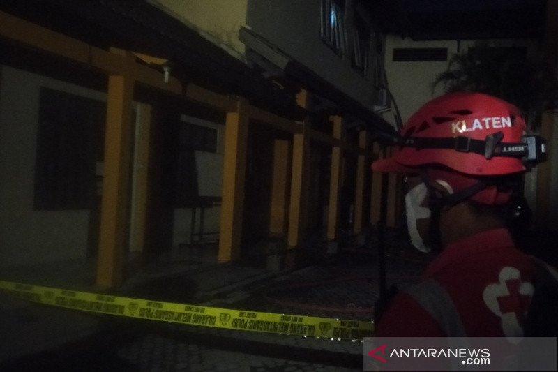 Ruangan arsip BPN Klaten terbakar