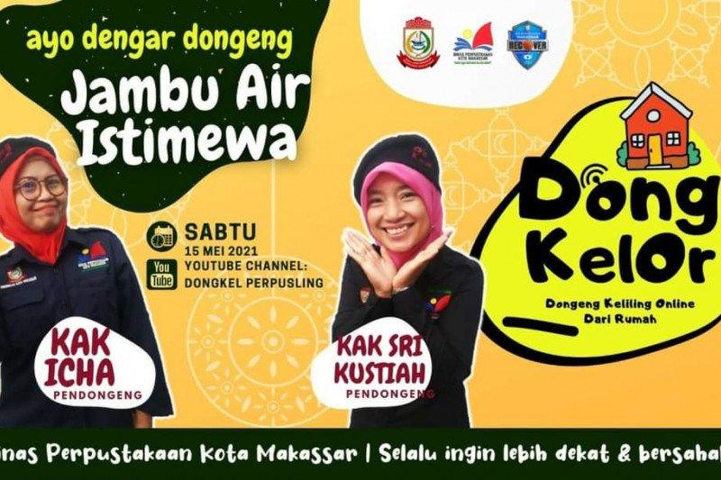 Perpustakaan Makassar libatkan 30 pendongeng untuk mendukung program Dongkelor