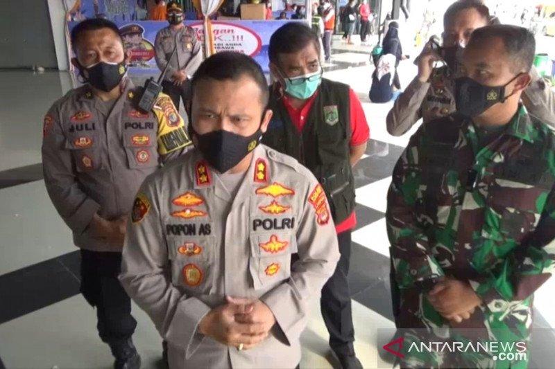 Lampung Tengah isolasi 77 pemudik reaktif COVID-19