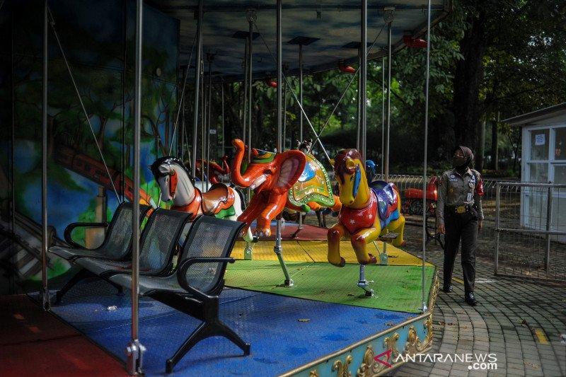 Tempat hiburan dan wisata di Kota Bandung ditutup