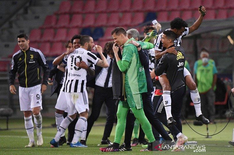 Hasil dan klasemen akhir Liga Italia: Juventus finis di empat besar