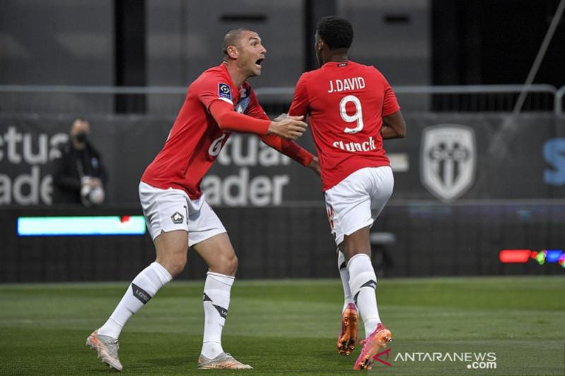 Lille juarai Liga Prancis seusai tundukkan Angers pada laga pamungkas