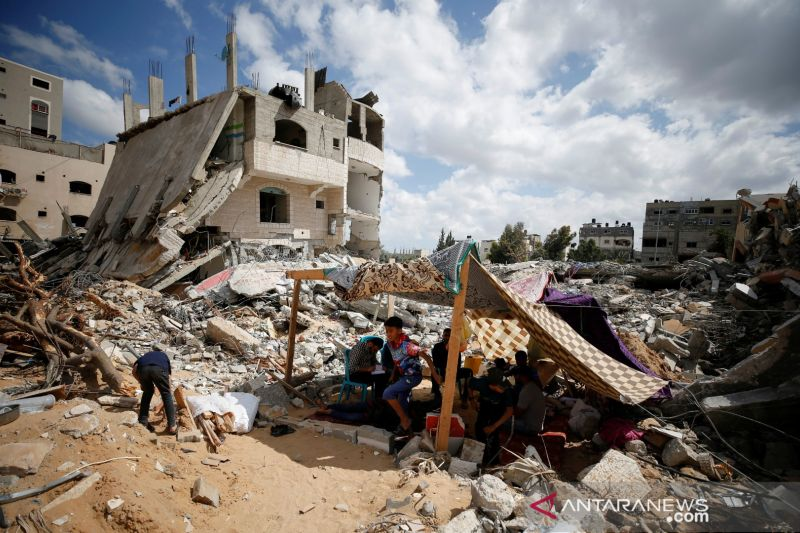 Hamas: Pesawat Israel gempur kamp Palestina di Gaza