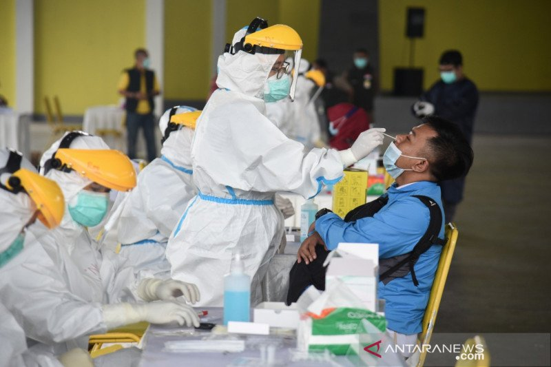 109 karyawan pabrik di Kabupaten Bandung terindikasi positif COVID-19