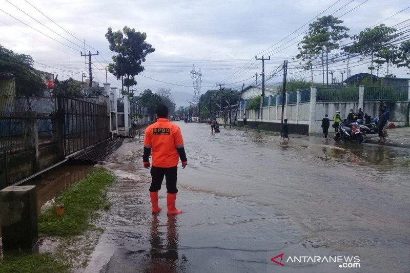 Ribuan rumah warga di Kabupaten Bandung kebanjiran