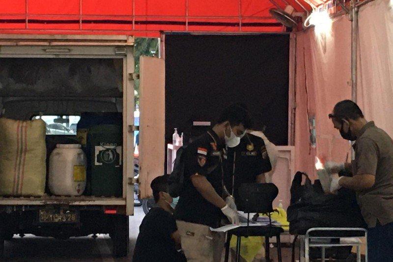 Polisi gerebek layanan rapid test tanpa turun di Medan