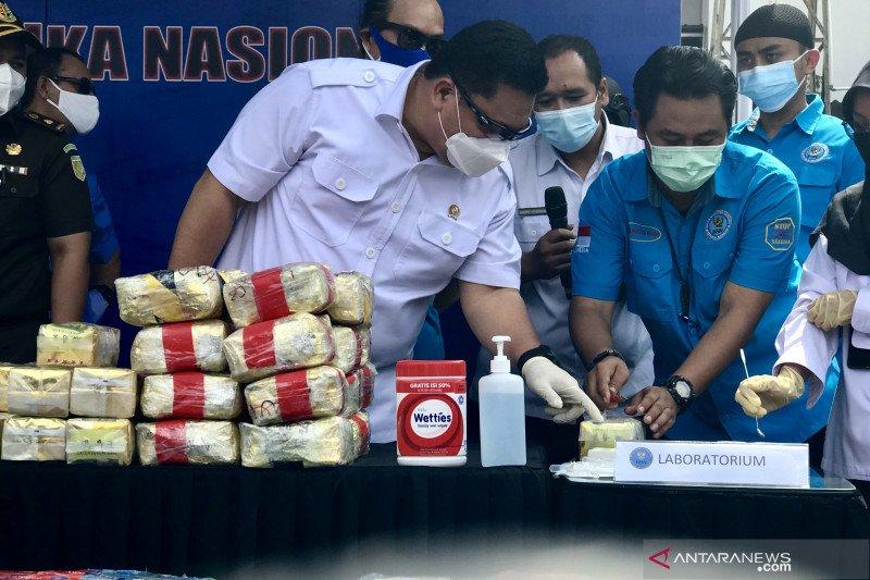 BNN musnahkan 794,62 kilogram sabu-sabu hasil sita Januari-Mei 2021