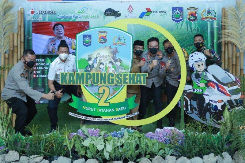 """""""Kampung Sehat 2 NTB"""" luncurkan photo booth di Bandara Internasional Lombok"""