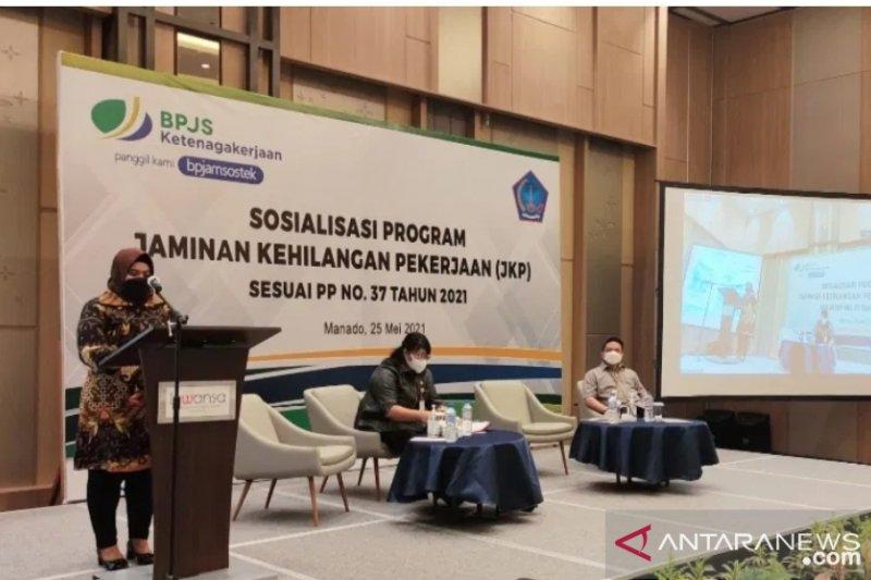 BPJAMSOSTEK-Disnakertrans sosialisasi JKP pada warga Sulut
