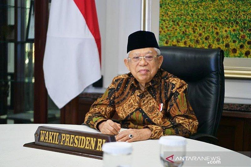 Wapres Ma'ruf Amin sebut Pemerintah berkomitmen menyejahterakan Papua dan Papua Barat