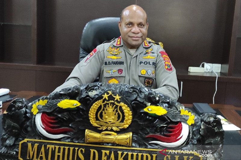 Polda Papua evaluasi penempatan personel Polisi di daerah rawan