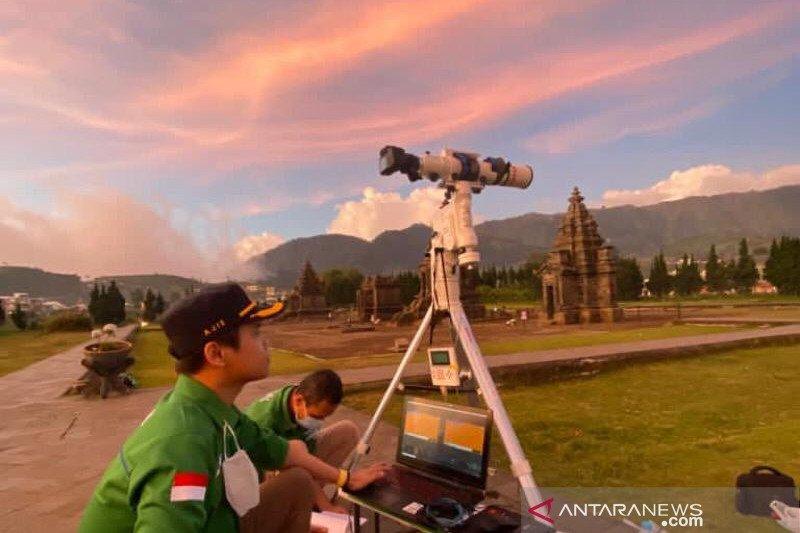 BMKG Banjarnegara amati gerhana  sambil promosi wisata