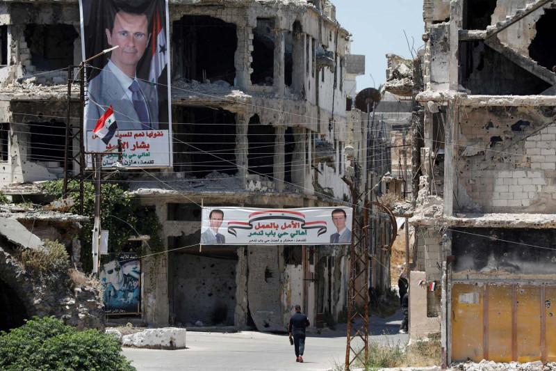 Suriah cegat serangan udara Israel ke daerah al Qusair di Homs