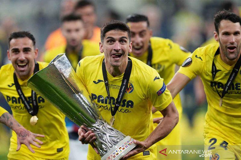 Gerard Moreno dari Villarreal dinobatkan sebagai Pemain Terbaik Liga Europa 2020/21