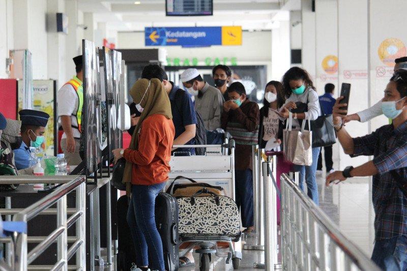 Penumpang Bandara Radin Inten capai 3.000 orang usai larangan mudik