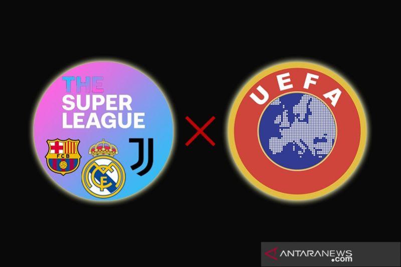 Real Madrid, Barcelona dan Juventus sebut UEFA langgar perintah legal