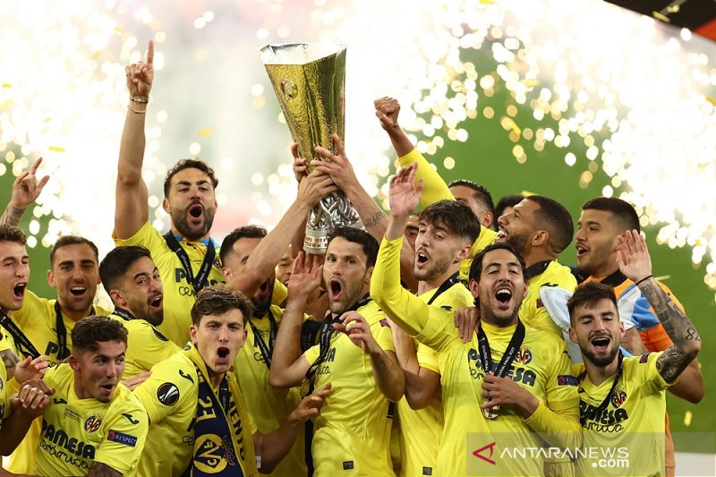 Daftar juara Liga Europa, Villarreal kini miliki trofi bergengsi Eropa