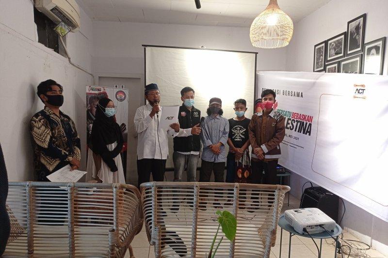 Ini dideklarasikan ACT Padang untuk pembebasan Palestina dari Zionis Israel