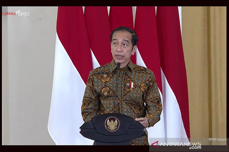 Presiden Joko Widodo perintahkan menteri dan kepala daerah tak tutupi data
