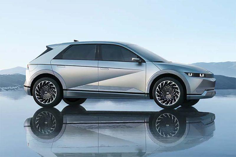 Hyundai Ioniq 5,  isi daya 5 menit bisa tempuh 100 km