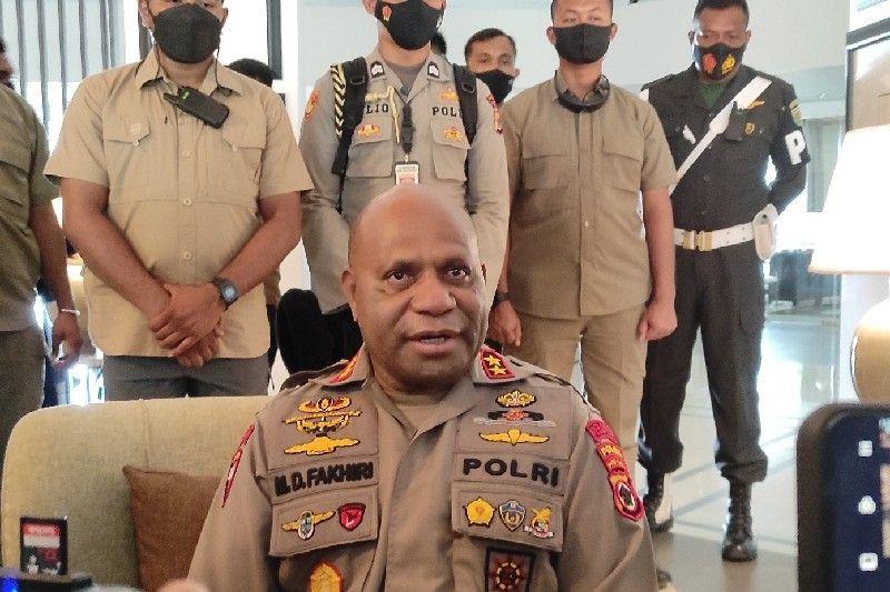Kapolda Papua: OTK serang Polsubsektor Oksamol satu anggota polri gugur, bawa tiga senjata api