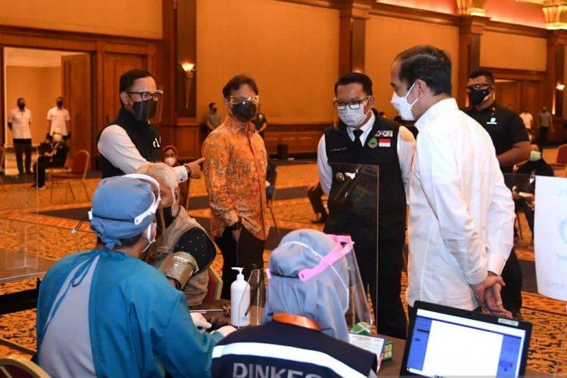 Pemkot Bogor lanjutkan vaksinasi lansia tahap 3
