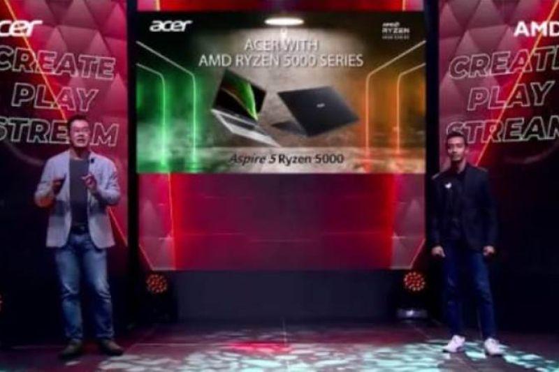 Acer menawarkan jajaran laptop baru dengan AMD Ryzen 5000 Series Mobile Processors